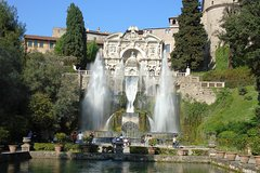 Private Tour from Rome to Tivoli Villa dEste and Villa Adriana with Hotel P