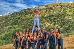 HOLLYWOOD SIGN WALK TO THE TOP!