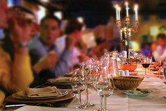 Tuscany: Wine Outdoor Dinner in San Gimignano Winery