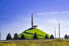 Private tour from Minsk to Stalin line, Khatyn Memorial complex, Mound of Glory