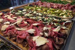 The Roman Food Tour by day, including visit to the Trionfale food market