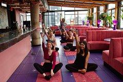Spa Sundays: Lux Drunk Yoga at Marmara Park Avenue
