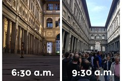 Exclusive Florence: walking tour without crowds