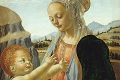 Leonardo with his teacher