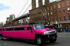 NYC Sightseeing Tour Manhattan (Pink H2 Hummer Limousine)
