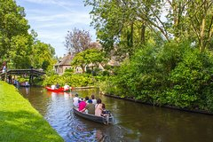 Giethoorn the Dutch Venice & exploring the North Netherlands by Luxury Car