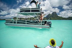 Private Snorkeling & Lagoon Tour on a Boat with a Slide for Friends & Families