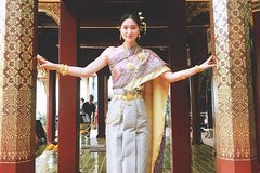 4 Hour Traditional Thai Costume Rental in Chiang Mai
