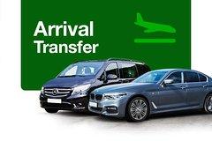 Private Arrival Transfer from CPH Copenhagen Airport to Copenhagen City