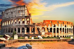 Hop on Hop off Bus & Colosseum Official Skip the Line Guided Tour