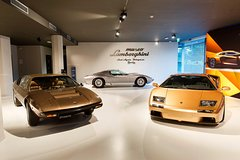 Ferrari, Pagani, and Lamborghini Tour from Milan or Florence