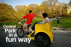 Classic 1 hour 30 mins Central Park Pedicab Tour