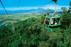 Kuranda, Scenic railway and skyrail tour
