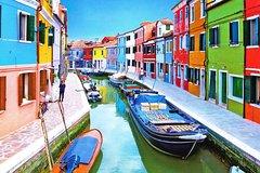 Venetian Lagoon: Murano, Burano & Torcello Self-Guided Tour