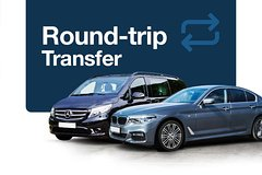 Imagen Airport Round-Trip Transfer: Rome Fiumcino to Hotel and Back