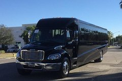 New York City Airport Departure Transfer by Luxury Mini or Motor Coach Bus