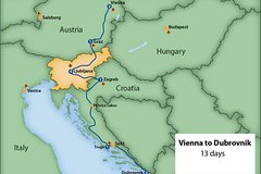 From Vienna to Dubrovnik via Slovenia in 13 days. Private tour. Quality travel.