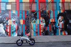 NYC Street Art Murals Electric Bike Tour