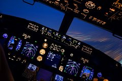 Boeing 737-800NG flight simulator - 1 hour and 40 minutes