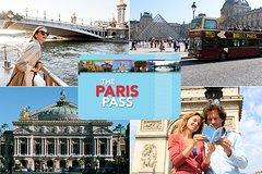 Paris Pass con excursión en autobús con paradas libres y entrada a más de 60 atracciones