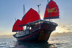 Shaolin Sunset Sailing Aboard Authentic Chinese Junk Boat