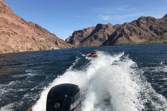 VIP Summer Fun with Boating On Lake Mead and Hoover Dam View Plus Valley of Fire