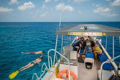 2 Hour Glass bottom reef and snorkel tour to Klein Bonaire