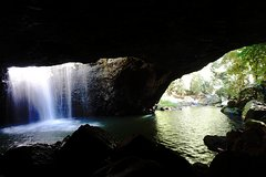 Natural Arch, Rainforest & Volcano Canyon - Half Day Tour