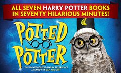Potted Potter at Bally's Hotel and Casino in Las Vegas