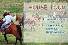 Horse Riding Tour From Telavi ( Hard )