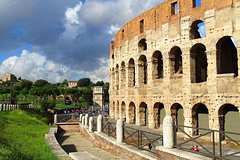 Rome: Colosseum by fast entrance door access