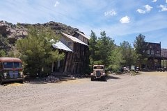 Ghost Town, Gold Mine, Hoover Dam and Red Rock Sunset Tour
