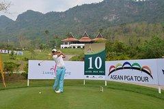 Luang Prabang Golf Club with visit Kuang Si Waterfall