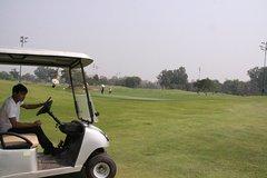 1 day Vientiane Long Thanh Golf Club plus Buddha park