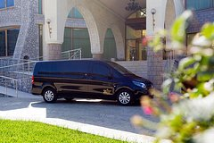 Athens Airport Minivan Transfer to Kosta for Spetses - Private for up to 8 pax