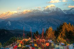 2 days Ghorepani Poon HIll Jeep Drive Trek