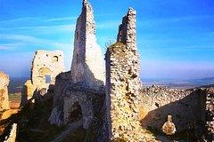Mysterious castles near Bratislava including hiking