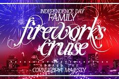 Independence Day Family Fireworks Cruise Aboard the Cornucopia Majesty Yacht