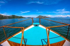 1 Hour Private Boat Cruise (virpazar - Island And Fort Grmozur)