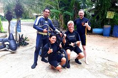 Padi open water diver course become a diver in 3 days (Start at Koh Mak)