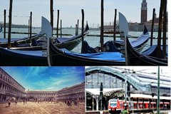 Venice Private Tour including St Mark Doges Palace & Gondola Ride from