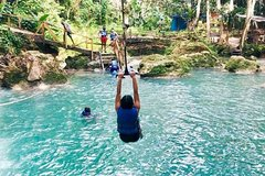 Blue Hole and River Gully Rainforest Adventure Tour from Montego Bay