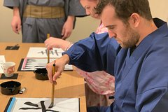 Japanese Calligraphy Private Class in the center of Kyoto