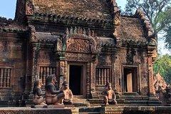 Angkor Wat Outer Circle (Banteay Srei Beng Mealea etc) and Kampong Phluk Tour