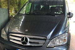 Transfer with Minivan from Sorrento to Naples Airport, Port, Station or Hot