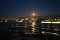 Capri by night with private boat