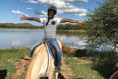 Guided Pony Riding in the Tranquil Surroundings of the Notwane Dam