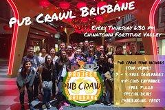 Pub Crawl Brisbane