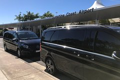 Private Transfer from Noosa to Brisbane Airport for 1 to 4 people