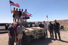 Platinum 8 Gun Desert Shooting